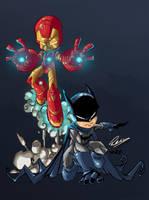 Ironman Batman by Przemo85