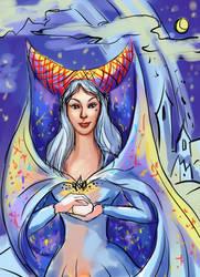 Moon Princess Sketch by J-Grey