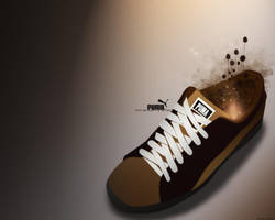 Puma Shoe Wallpaper by felipemaa
