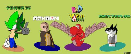Dextre's main Avatars by Dexterhood
