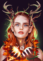 Keyleth of the Air Ashari by SurugaMonkey