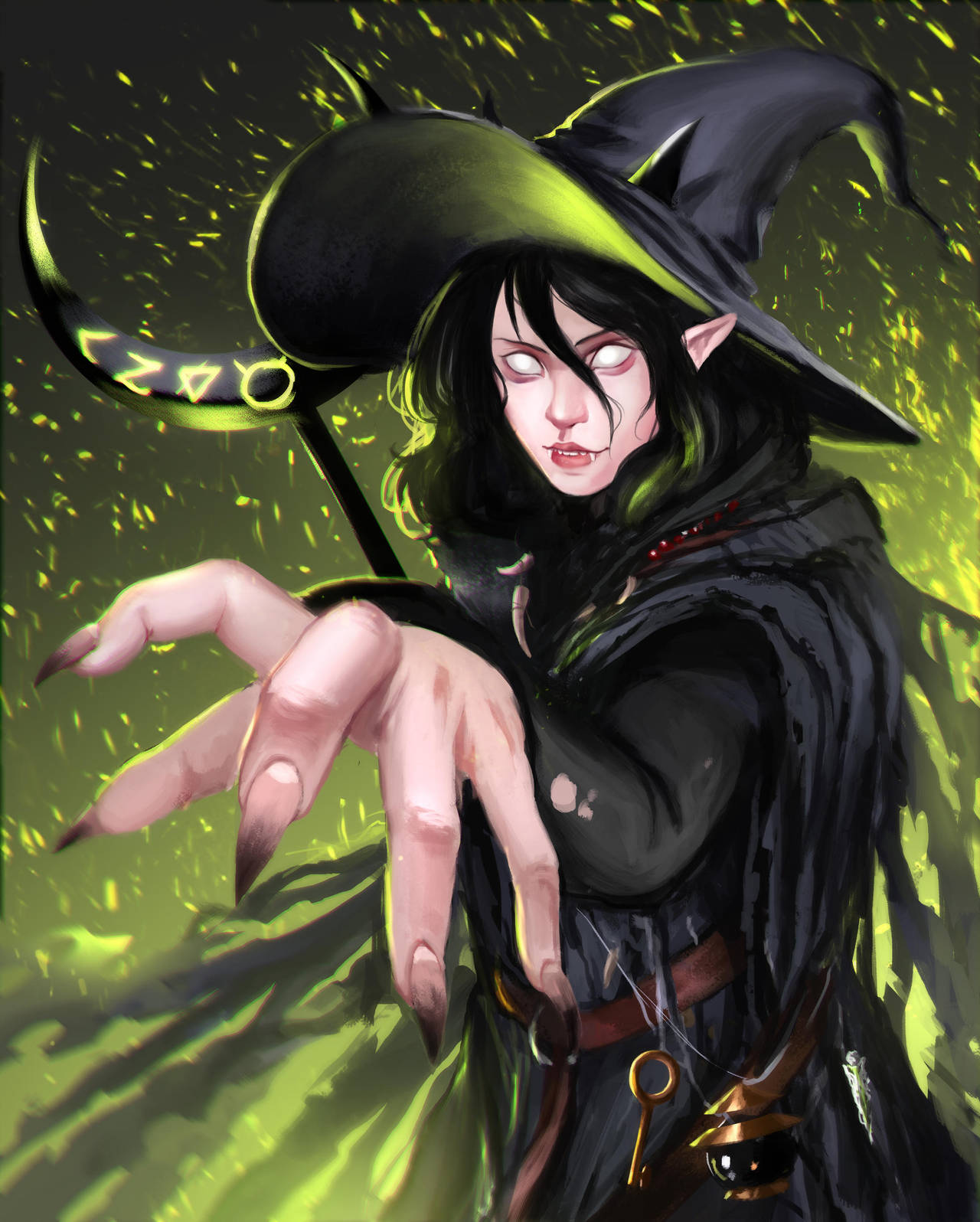 Strix the Trash Witch by SurugaMonkey