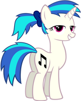 Vinyls Ponytail by Scourge707