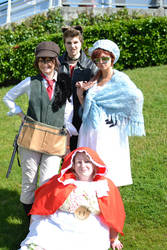 [APH] London MCM Expo Tomato Family cosplay by beeeeespain