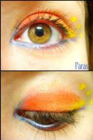Pokemon Makeup: Paras by Steffmiesterx13