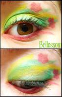 Pokemon Makeup: Bellossom by Steffmiesterx13