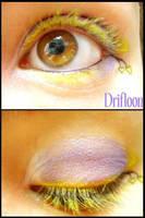 Pokemon Makeup: Drifloon by Steffmiesterx13