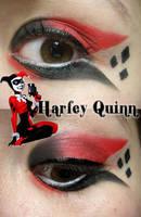 Harley Quinn  Makeup by Steffmiesterx13