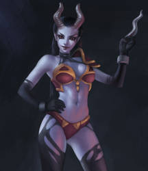 Queen of Pain by AnoleaNova