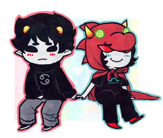 Homestuck :: Just the Way You Are by RyuichiFoxe