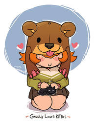 Grizzly Loves by Carmessi