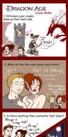 Dragon Age : Origins couple meme by Lefantoan