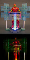 Iron Man's control center by Jin-Saotome