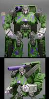 Megatron G2 Tank by Jin-Saotome
