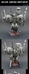 War Machine's WAR DESTROYER by Jin-Saotome