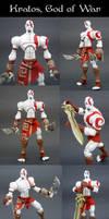 Kratos, God of War by Jin-Saotome