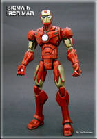 Sigma 6 Style Iron Man by Jin-Saotome