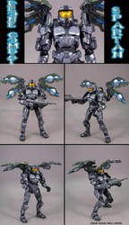 Drone Combat Spartan Soldier by Jin-Saotome