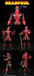 Deadpool Suit Design by Jin-Saotome