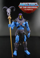 Skeletor promo shot by Jin-Saotome