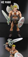 He-Man Classics custom figure by Jin-Saotome