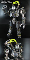 Steampunk War Machine by Jin-Saotome