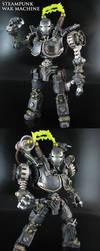 Steampunk War Machine by Jin-Saotome