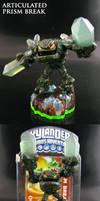 Skylanders Prism Break with joints by Jin-Saotome