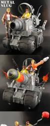 Custom Metal Slug Super Vehicle by Jin-Saotome