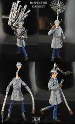 Inspector Gadget custom figure part 1 by Jin-Saotome