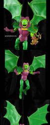 Custom Marvel Legends Annihilus by Jin-Saotome