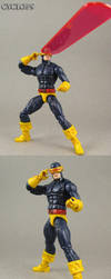 Custom John Byrne Cyclops Action Figure by Jin-Saotome