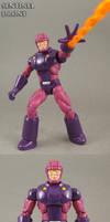 X-Men Arcade game Sentinel Drone Custom Figure by Jin-Saotome