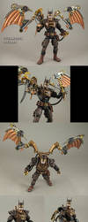 Steampunk Batman Custom action figure by Jin-Saotome