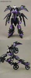 Custom Transformers Cyclocon 2.0 Fembot Motorcycle by Jin-Saotome