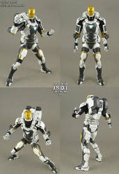 Iron Man 3 Gemini Deep Space Armor by Jin-Saotome