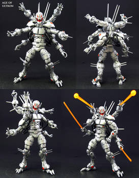 Age of Ultron custom Marvel Legends figure by Jin-Saotome