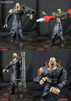 Custom marvel vs Capcom 3 Nemesis by Jin-Saotome