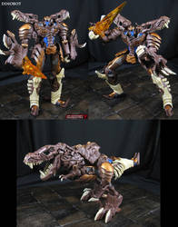 Beast Wars Dinobot custom done AoE movie style by Jin-Saotome
