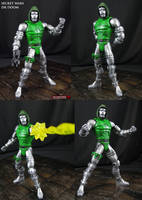 Dr Doom Secret Wars custom Marvel Legends by Jin-Saotome