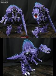 Beast Wars Megatron AoE style custom figure by Jin-Saotome