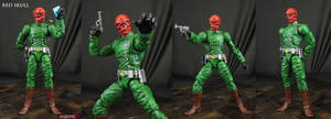 Custom Classic Red Skull action figure by Jin-Saotome