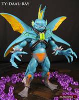 Custom MOTUC Ty-Daal-Ray figure by Jin-Saotome