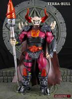 Custom MOTUC Terra-Bull action figure by Jin-Saotome