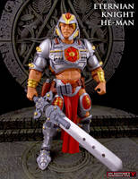 Custom Eternian Knight He-Man figure by Jin-Saotome