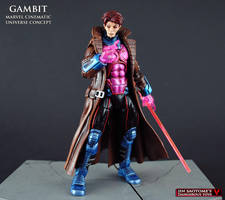Marvel Cinematic Universe Gambit figure by Jin-Saotome