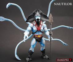 MOTUC Nautilor custom action figure by Jin-Saotome