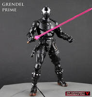 Grendel Prime custom Marvel Legends figure by Jin-Saotome