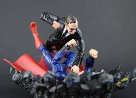 Custom Agent Smith action figure by Jin-Saotome