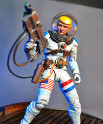 Space Force Adventure Donald Trump Action Figure by Jin-Saotome